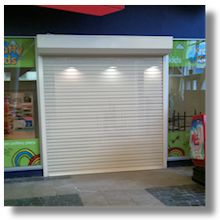 Shop security shutters